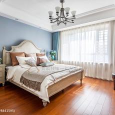 精美面积130平美式四居卧室装修效果图
