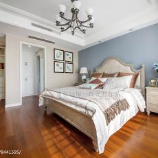 热门130平米四居卧室美式装修效果图片大全