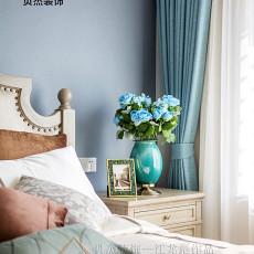 热门面积114平美式四居卧室装修图片