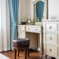 热门136平米四居卧室美式装修欣赏图片大全