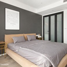 精选106平方三居卧室现代装修设计效果图片