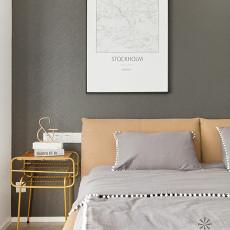 优雅99平现代三居卧室装修案例