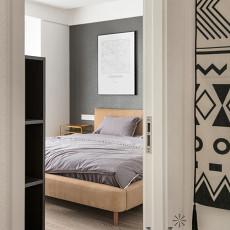 201998平现代三居卧室装修案例