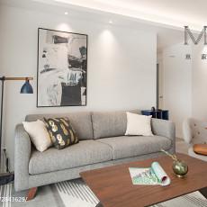 热门90平方三居客厅现代装修欣赏图片大全