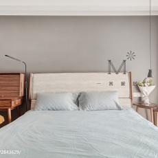 热门面积122平现代四居卧室欣赏图片
