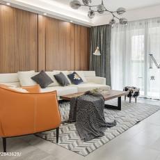 精美面积125平现代四居客厅实景图片大全