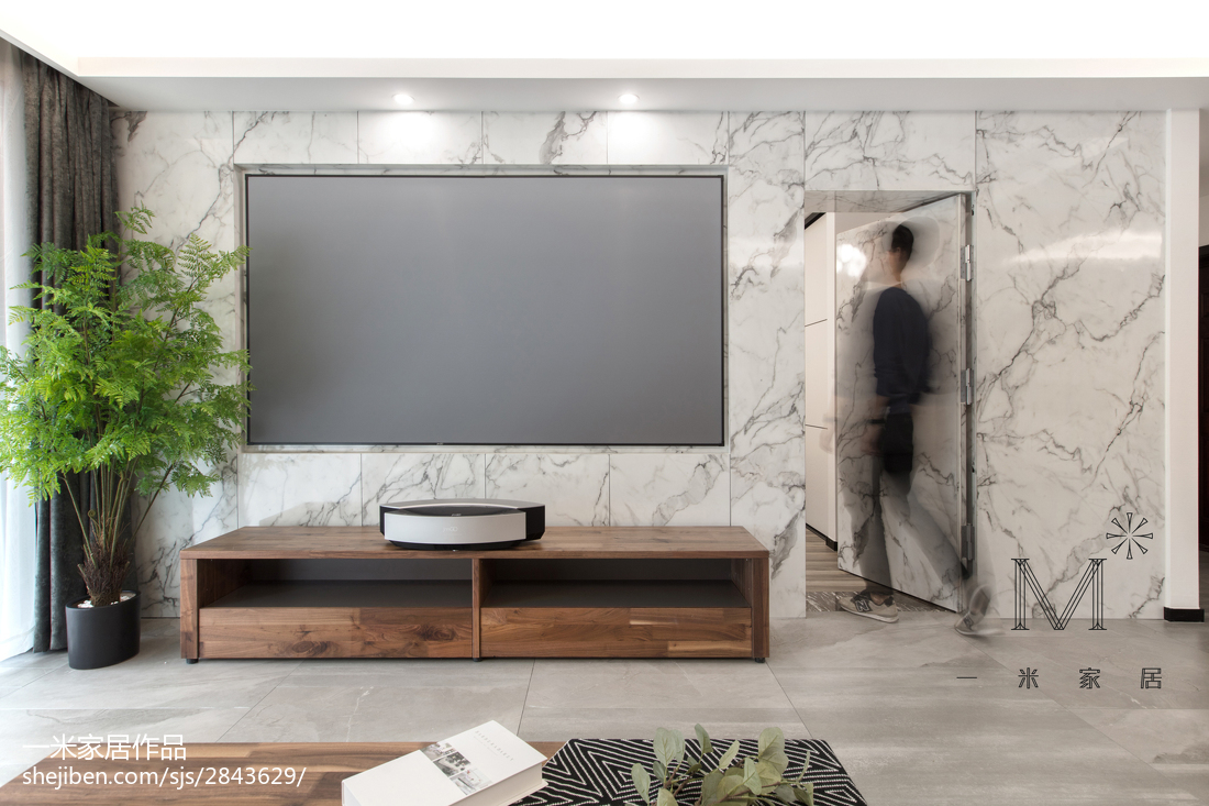华丽140平现代四居客厅美图
