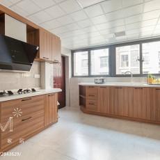 大气122平现代四居厨房图片欣赏