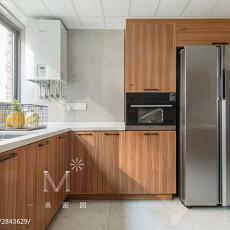 精致146平现代四居厨房装饰图片