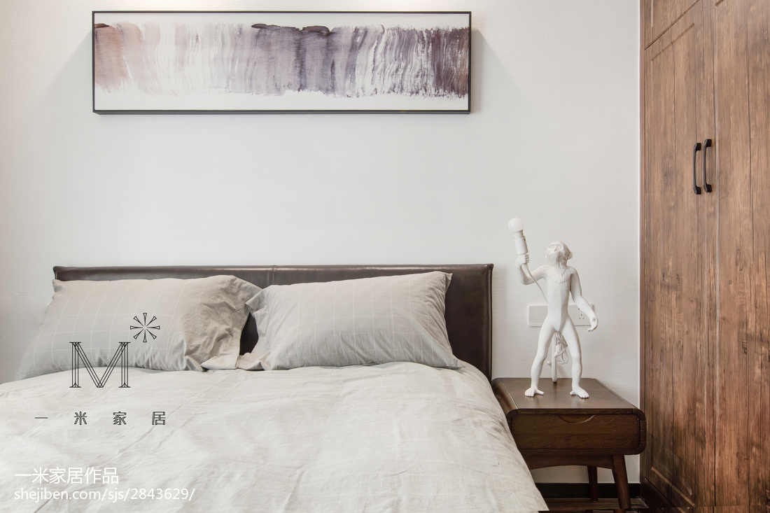 精美面积114平现代四居卧室装修欣赏图片