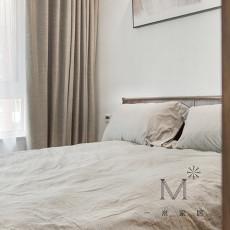 明亮157平现代四居卧室实拍图