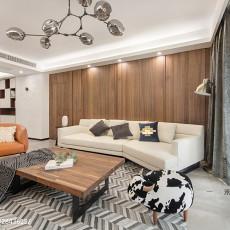 华丽114平现代四居客厅装修装饰图