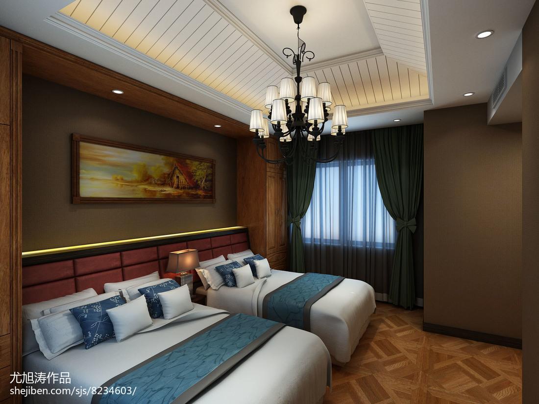 精美面积89平小户型卧室简约欣赏图片大全