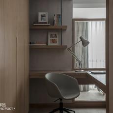 现代风复式书房设计图片
