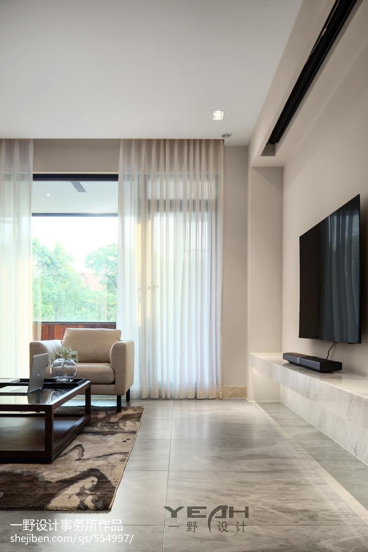 2018精选大小99平中式三居客厅装修图片欣赏