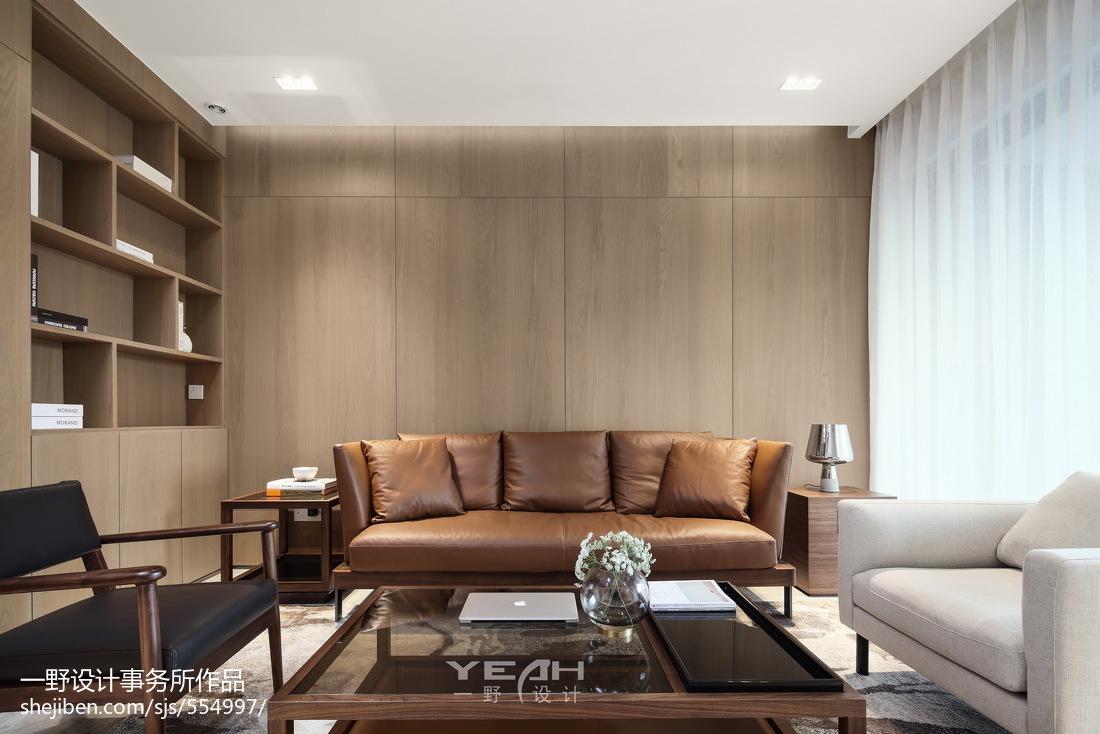 2018面积104平中式三居客厅效果图片大全
