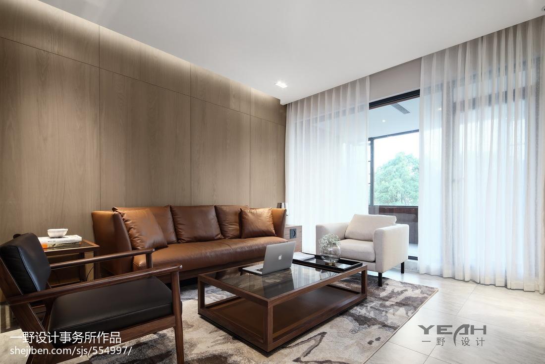 201893平米三居客厅中式装饰图片欣赏