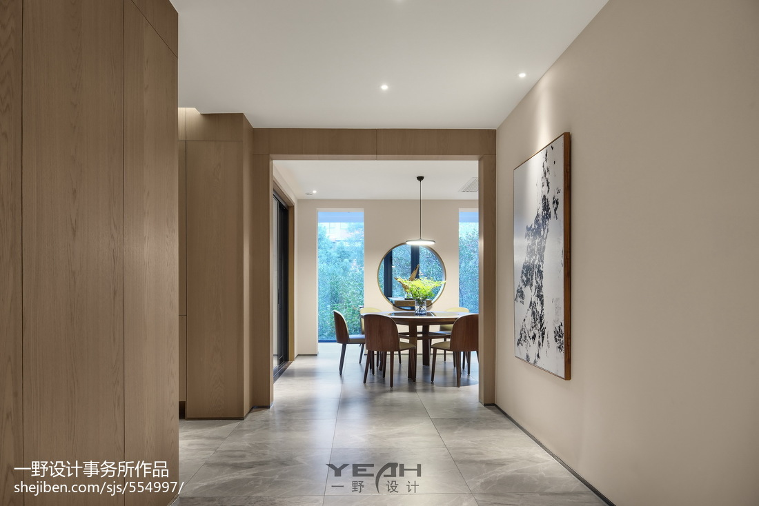 2018面积90平中式三居餐厅装修设计效果图片欣赏