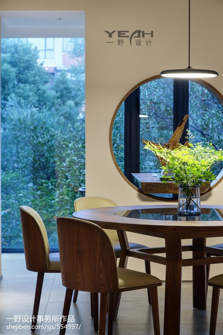 精美三居餐厅中式装修实景图