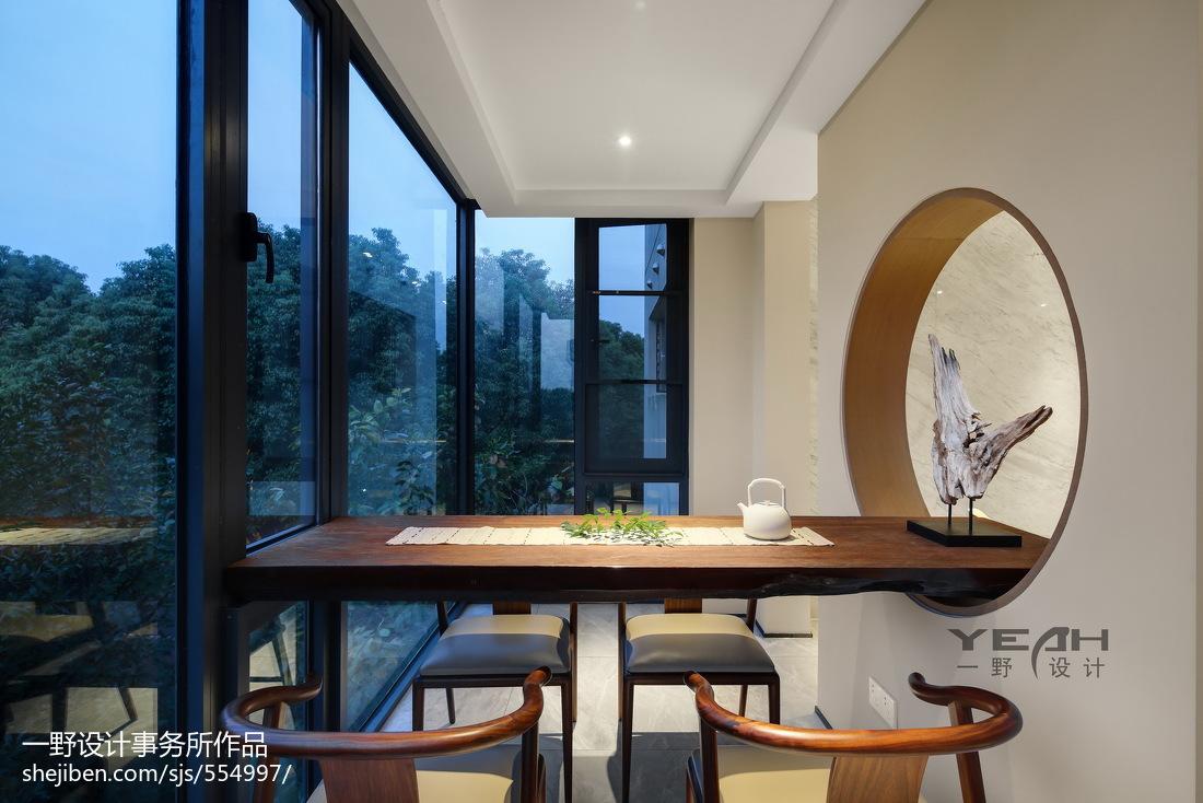 热门中式三居书房装饰图片