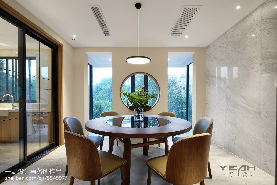 2018精选97平方三居餐厅中式装修效果图
