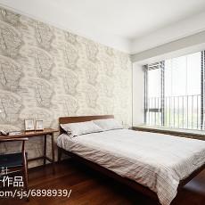 精美面积98平现代三居卧室装饰图片大全