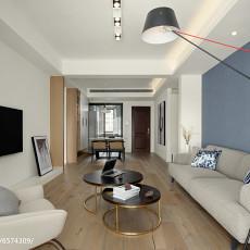 97平米三居客厅现代装饰图片欣赏