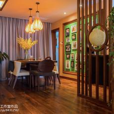 精选东南亚三居餐厅装修设计效果图片大全