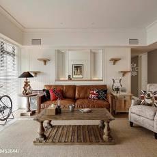 美式家装客厅沙发设计图