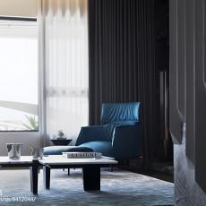 精选126平米现代别墅客厅装修实景图