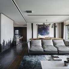 精美128平米现代别墅客厅欣赏图