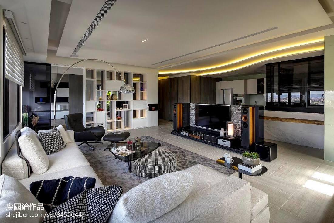 明亮516平现代别墅客厅设计美图