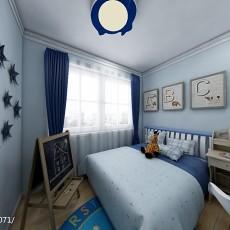精美二居儿童房现代装修设计效果图片大全