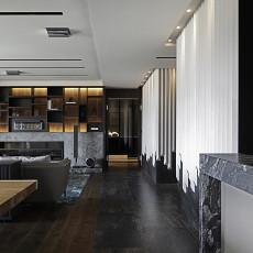2018精选113平米现代别墅客厅装修效果图片大全