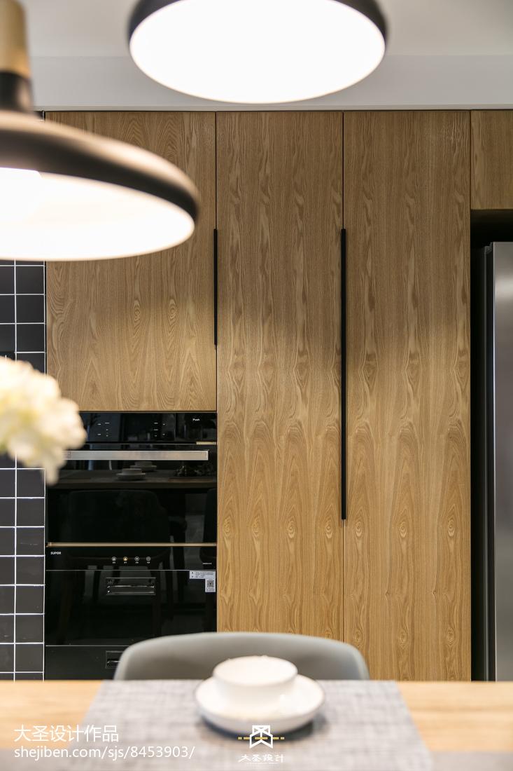 2018精选面积105平北欧三居客厅装修设计效果图片欣赏