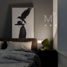 精美74平方二居卧室现代装修效果图片欣赏