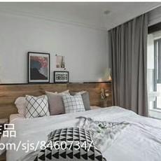 热门面积102平北欧三居卧室实景图片大全