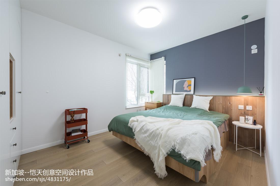 精简北欧二居卧室设计图