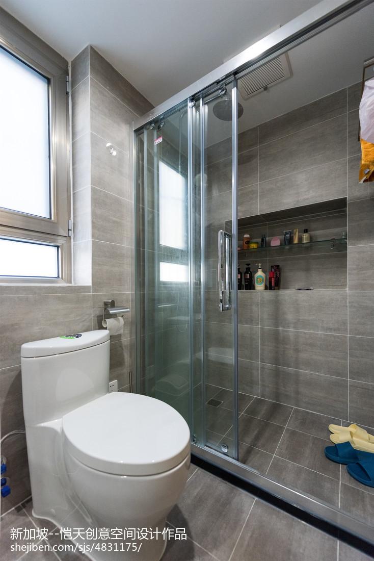 精简北欧二居卫浴设计图片