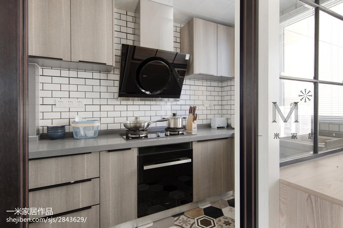 热门二居厨房北欧装修效果图片大全