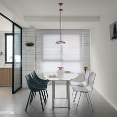2018精选106平米三居餐厅北欧效果图片欣赏