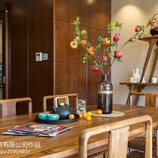 热门大小111平别墅餐厅中式装修效果图
