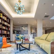 精美110平米中式别墅书房装修效果图片欣赏