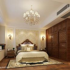 四居卧室美式装修效果图片大全