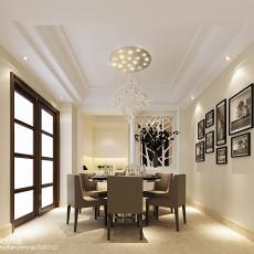 精选简约复式餐厅装修设计效果图片欣赏