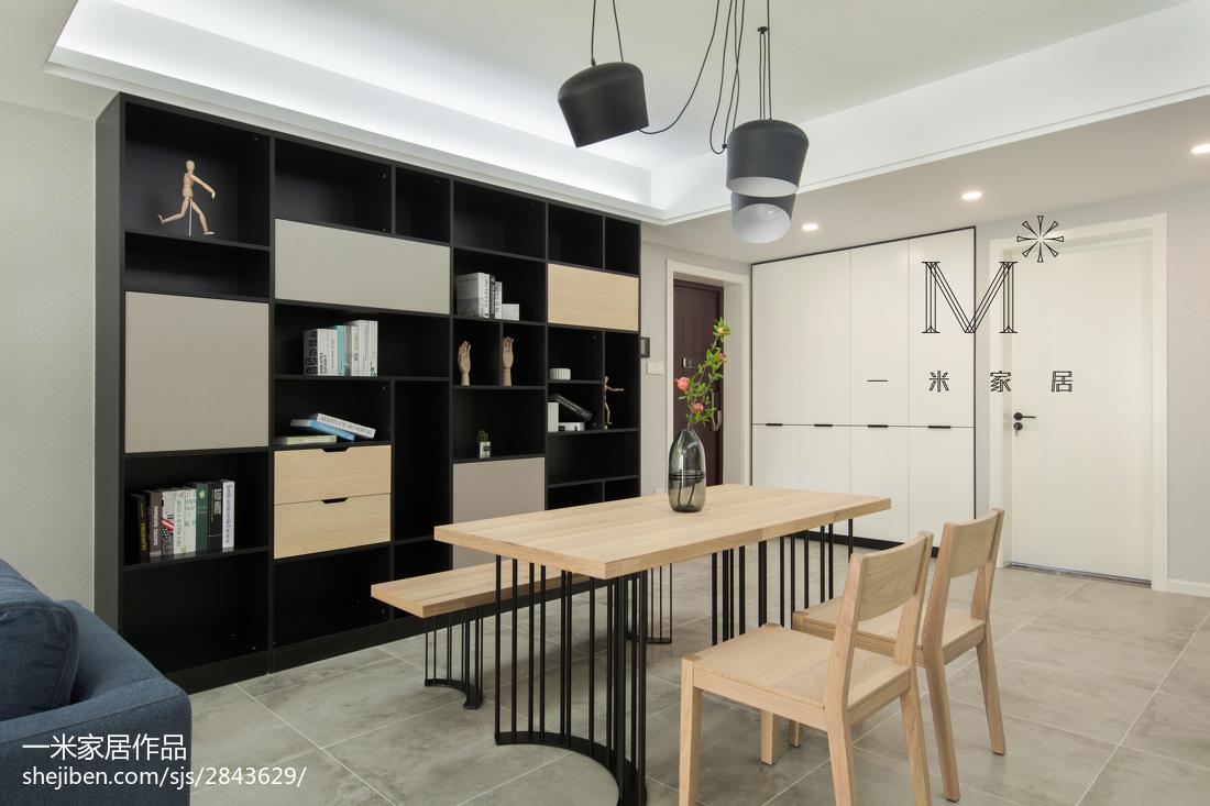 面积81平北欧二居餐厅装修设计效果图片欣赏
