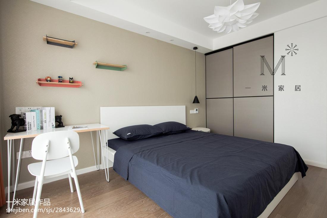 精选76平米二居儿童房北欧装修欣赏图