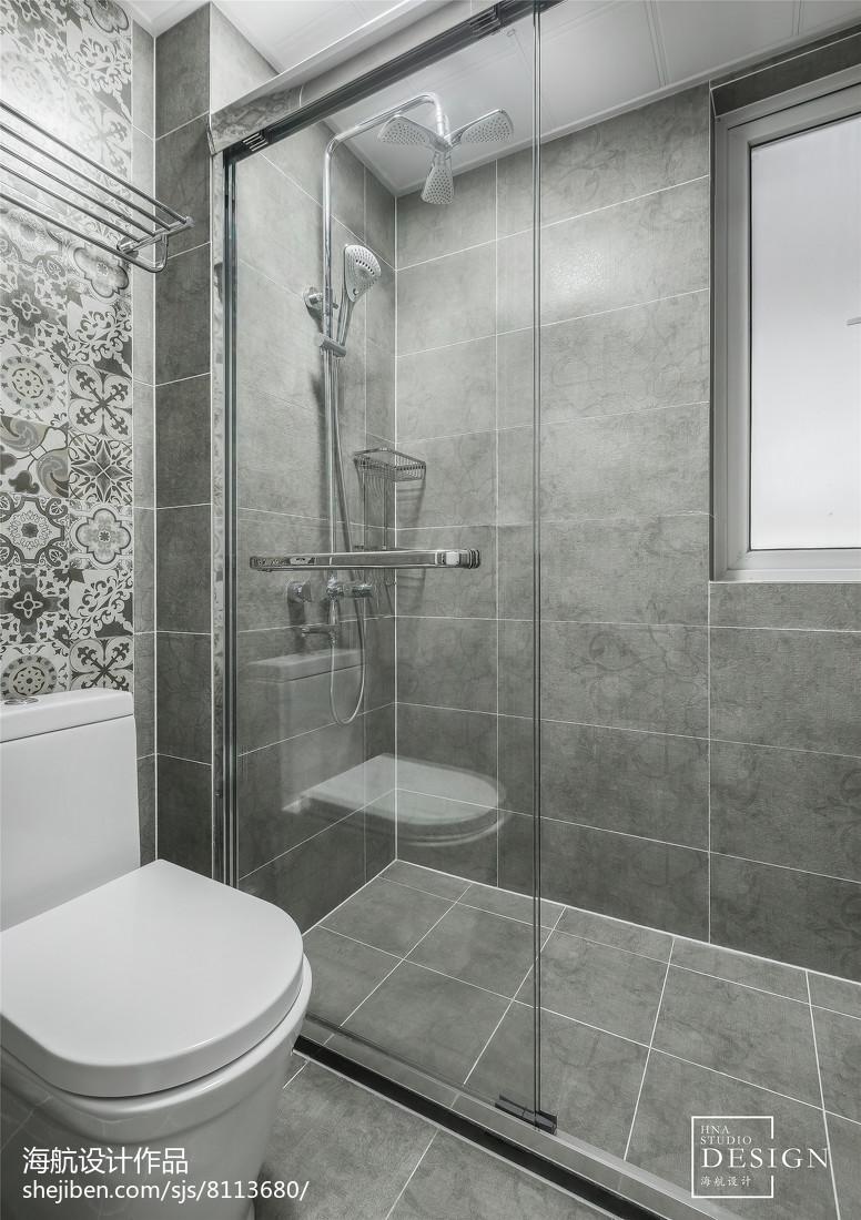 灰色系三居卫浴设计图片