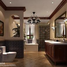 精选别墅卫生间中式装修图片