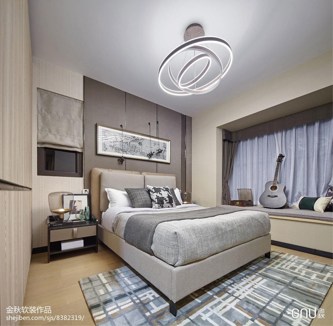 大气329平北欧样板间卧室设计案例